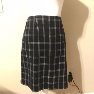 ⚡️J. Jill Plaid Skirt